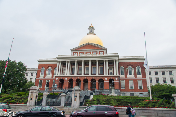Massachussets state haouse Boston - The freedom trial