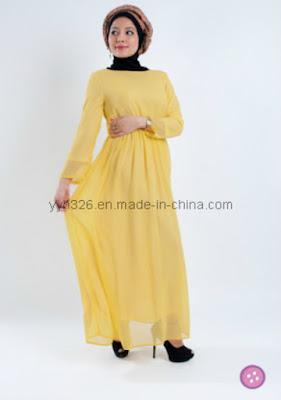 Model Baju Muslim Lebaran Wanita Gemuk