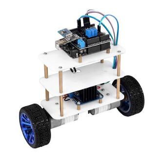 How to make a self-balancing robot with Arduino