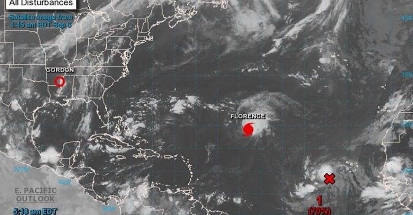 Huracán Florence se convierte en categoría 4 y ordenan evacuar a un millón de pobladores de Carolina del Sur en Estados Unidos - EE.UU.