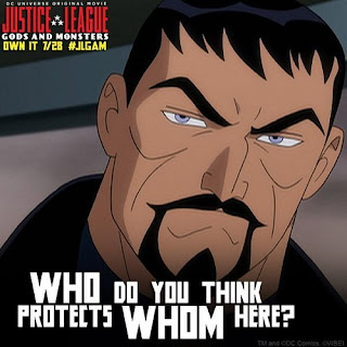 Mexican Superman Son of Zod in Justice League Gods and Monsters poster image picture screensaver wallpaper