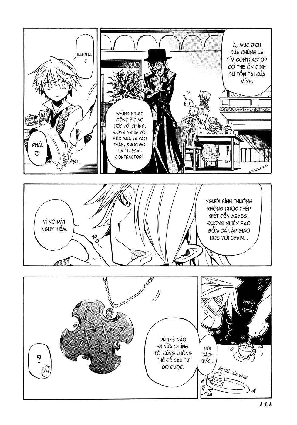 Pandora Hearts chương 004 - retrace: iv rendezvous trang 12