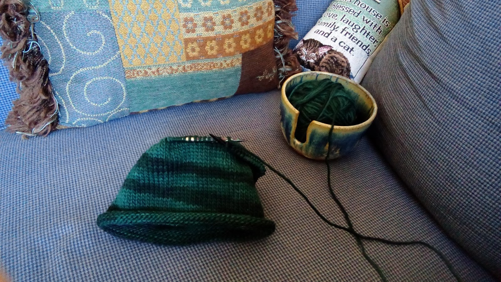 Lovely Yarn Escapes Wednesday S Yarn Along A New Knitting Book