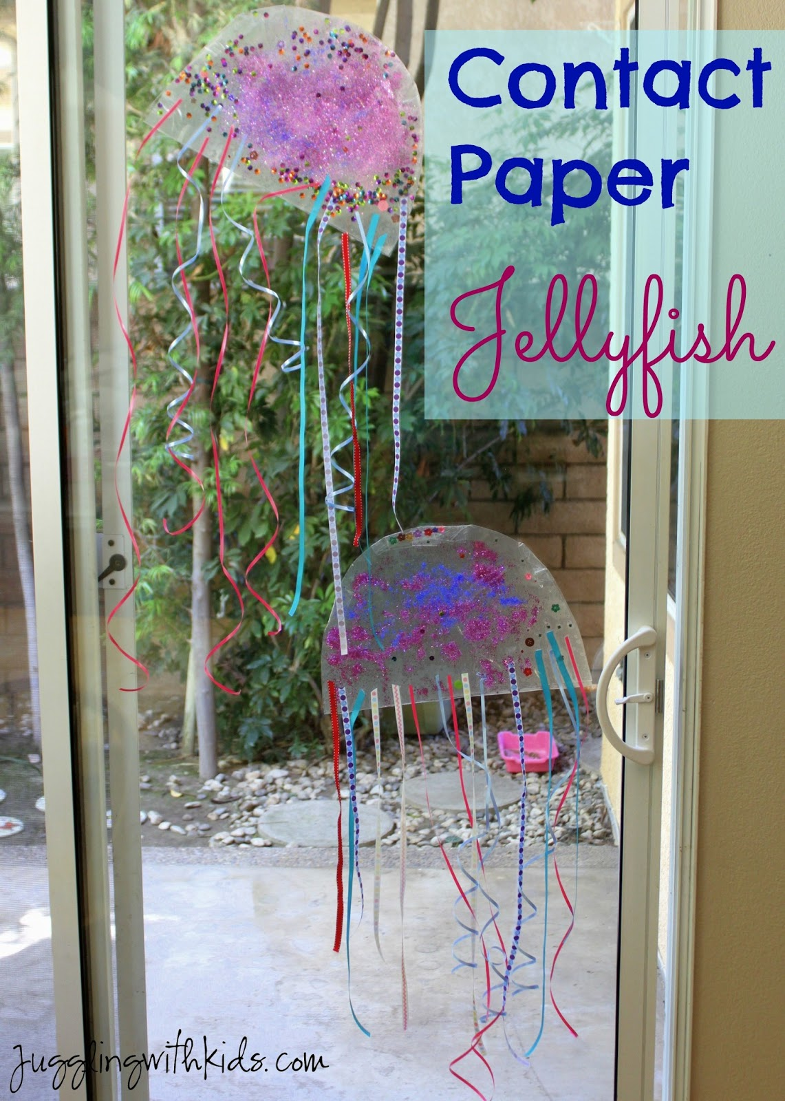 Contact Paper Jellyfish Juggling With Kids