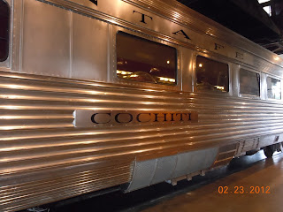 super chief cochiti dining car