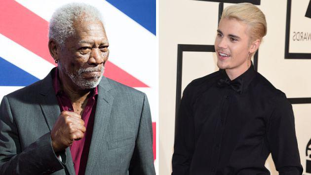 "Morgan Freeman canta ""Love Yourself"" de Justin Bieber de forma dramática (VIDEO)"