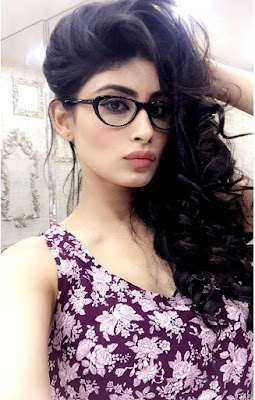 Mouni Roy as secretary hot