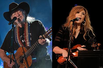 Alison Krauss y Willie Nelson de gira 2018.