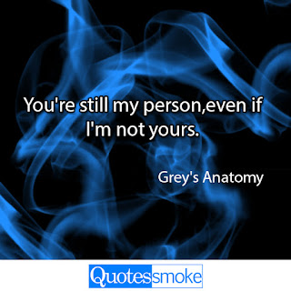 Greys Anatomy Sad Quote