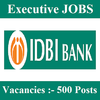 IDBI Bank Limited, IDBI Bank, Graduation, Executive, Bank, freejobalert, Sarkari Naukri, Latest Jobs, Hot Jobs, idbi bank logo