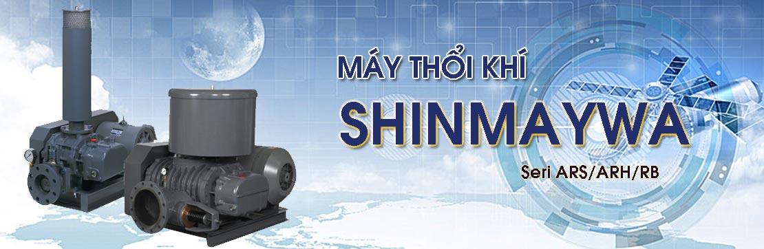 Giới thiệu Máy thổi khí Shinmaywa nhập khẩu chính hãng