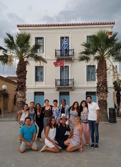 Ολοκληρώθηκε η Α΄ φάση του Θερινού Προγράμματος Πρακτικών Ασκήσεων του Κέντρου Ελληνικών Σπουδών στο Ναύπλιο