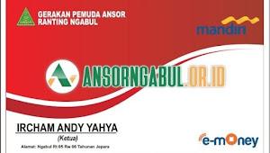 Berikut Desain E-Money KTA GP Ansor Ngabul dan Manfaatnya