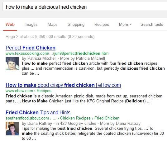 hasil percobaan Google plus tanpa login