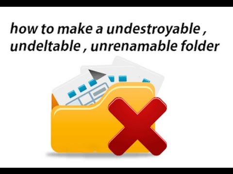 Create A Undeletable And Unrenamable Folders In Windows - Tech-Blog Byomaxx