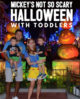 Tips for attending Walt Disney World's Mickey's Not-So-Scary Halloween Party With Toddlers & Kids