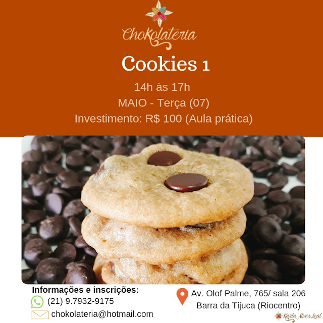 Curso de Cookies 1 - Chokolateria Maio 2019