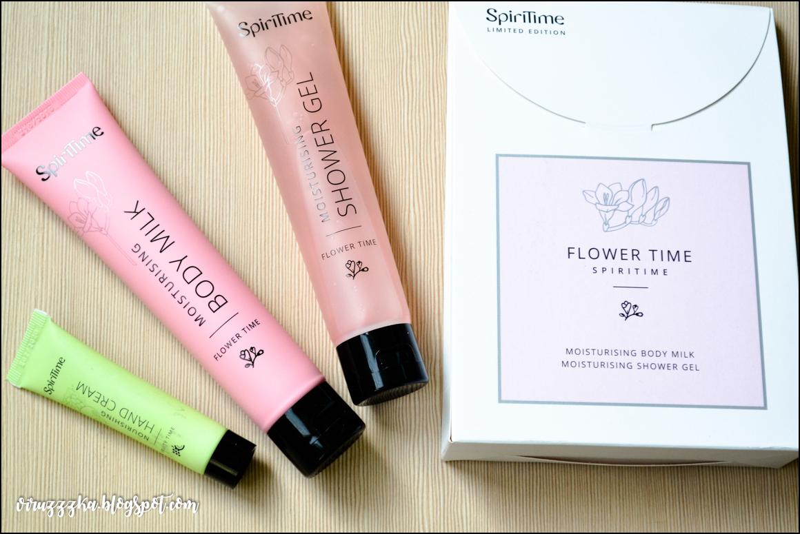 SpiriTime Flower Time Moisturising Set
