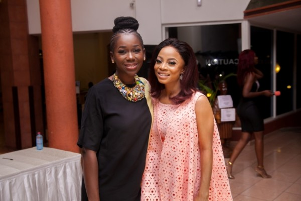 Jackie Appiah, Ama K Abebrese,Vanessa Gyan & More Attend Toke Makinwa's ''On Becoming'' Book Reading & Signing in Ghana