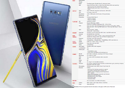 Samsung Galaxy Note 9 User Manual PDF Download