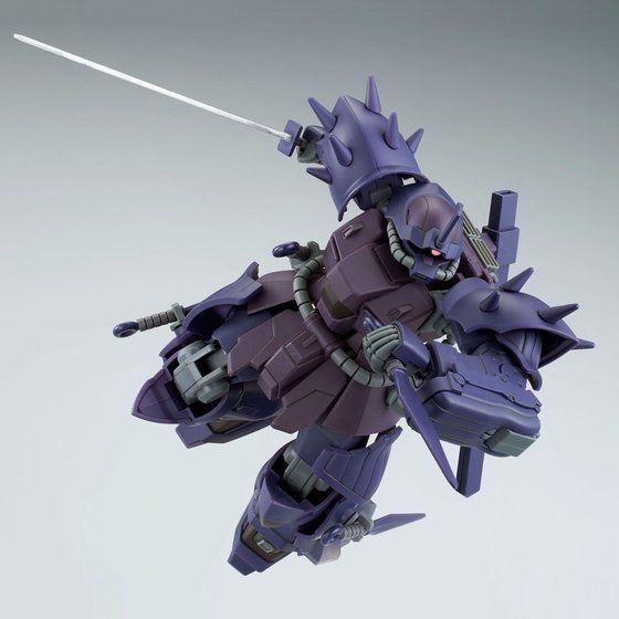P-Bandai: HGUC 1/144 MS-08TX/N Efreet Nacht cold blade srtike pose