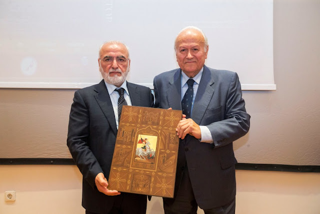 Ο Ιβάν Σαββίδης βραβεύτηκε για την προσφορά του στην ανάπτυξη του Ποντιακού Ελληνισμού