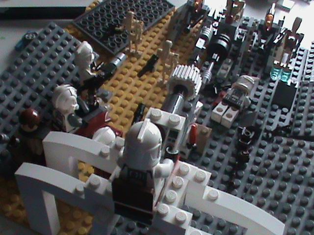 Lego Star Wars Mocs 1st Battle Of Geonosis Custom Moc