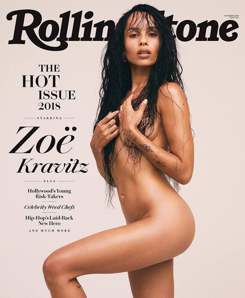 Zoë Kravitz for Rolling Stone US November 2018