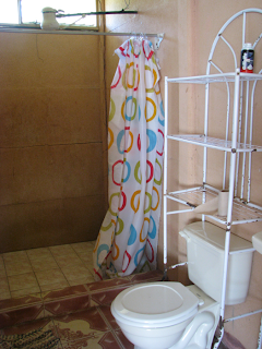 Bathroom in house for rent in Puriscal