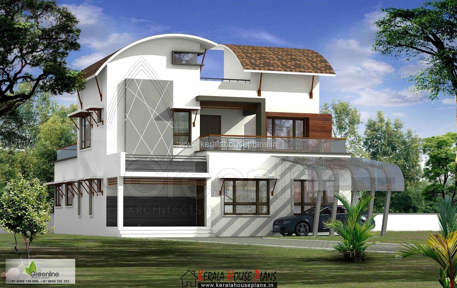 Latest House design in 2016 2389 sqft.