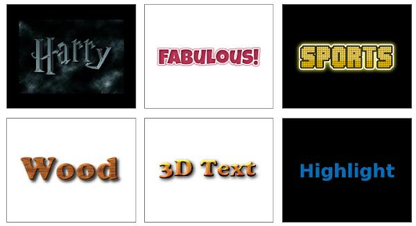 Membuat logo di FLAMINGTEXT