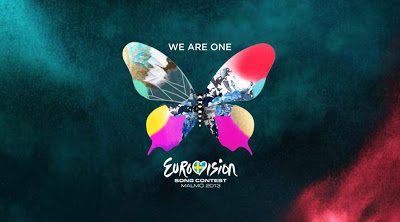 Esc2013 Butterfly Background Slogan A Reportagem - «Festival Eurovisão Da Canção 2013» - 1ª Parte