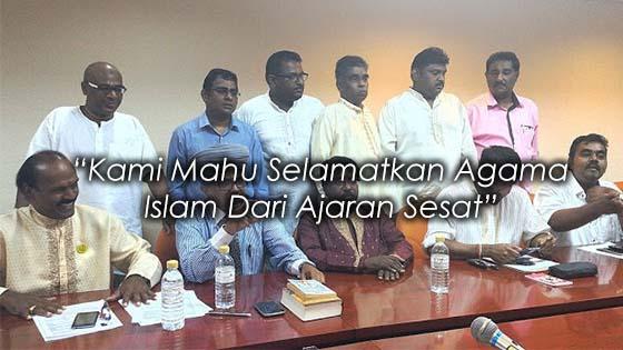 Kami Bantah Dr. Zakir Naik Kerana Mahu Selamatkan Penganut Islam Dari Ajaran Sesat