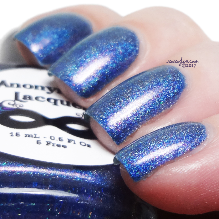 xoxoJen's swatch of Anonymous Lacquer Twilight's Dawn