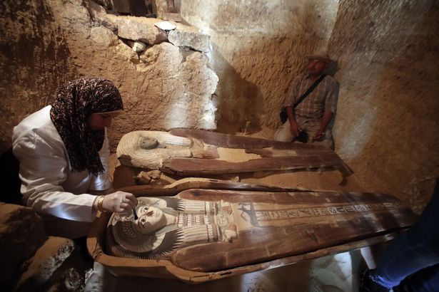 Archaeologists find 4,500-year-old double tomb in 'discovery whole world is watching'