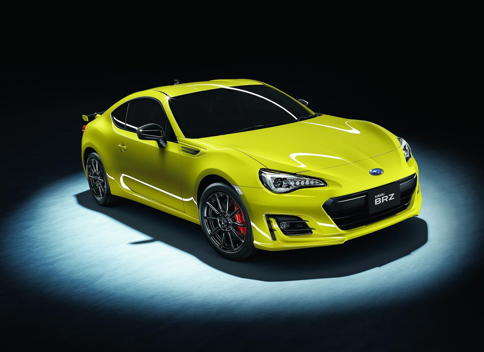 Japan Gets 2017 Subaru Brz Gt Range Topper Carscoops Com