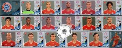 Panini Champions League 2012/13 bayern munchen