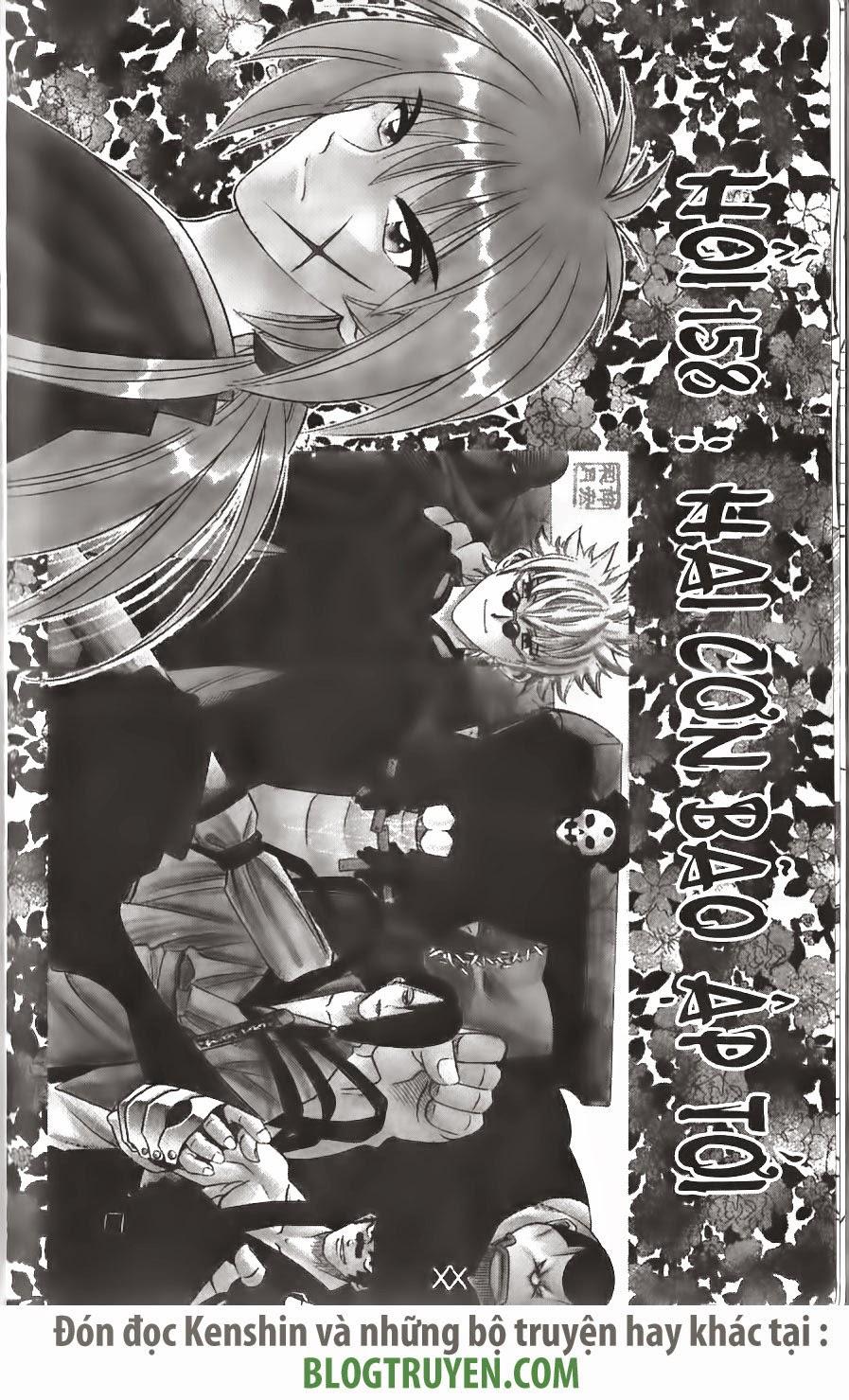Rurouni Kenshin chap 158 trang 2