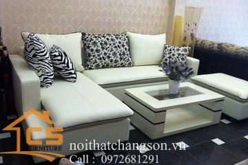 Sofa bền đẹp - giá rẻ sản xuất tại xưởng Nội Thất Chàng Sơn: Sofa đẹp 15