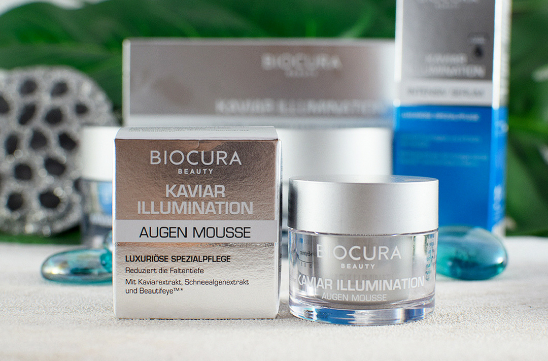 Wie gut ist das Biocura Kaviar Illumination Augen Mousse