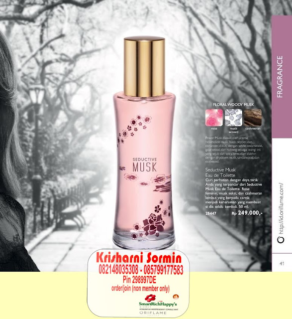 Oriflame New Fragrance: My Naked Truth   Luxury Wear