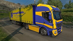 Umbria Iveco Hi-Way skins + trailer