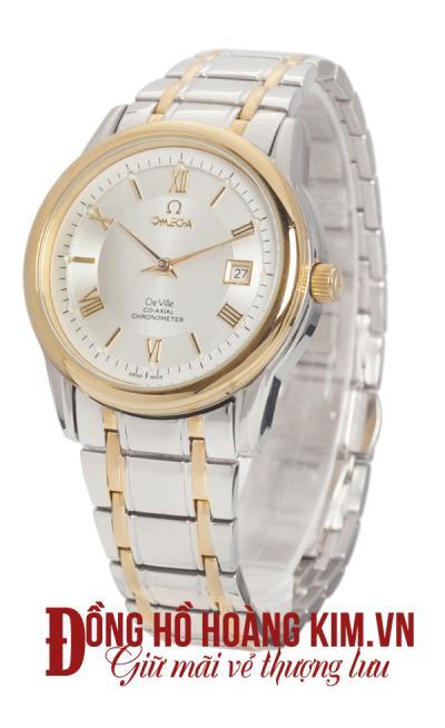 đồng hồ nam dây thép omega mới nhất