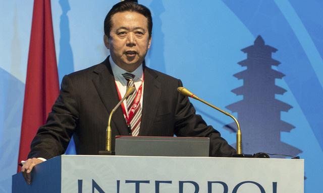 Cựu Chủ tịch Interpol Mạnh Hoành Vĩ