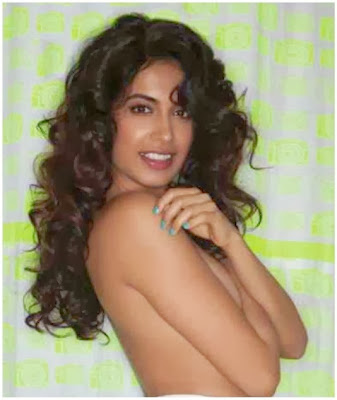 Sarah Jane Dias's topless photoshoot for FHM India October