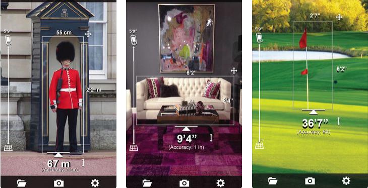 تطبيق Smart Measure رائع لقياس الطول والعرض لأي شيء أمامك عبر الكاميرا الآيفون والآيباد جديد الهواتف الذكية