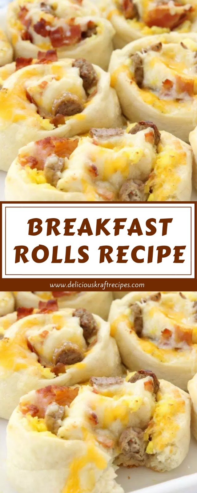 BREAKFAST ROLLS RECIPE
