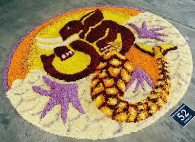 onam pookalam photos 2016