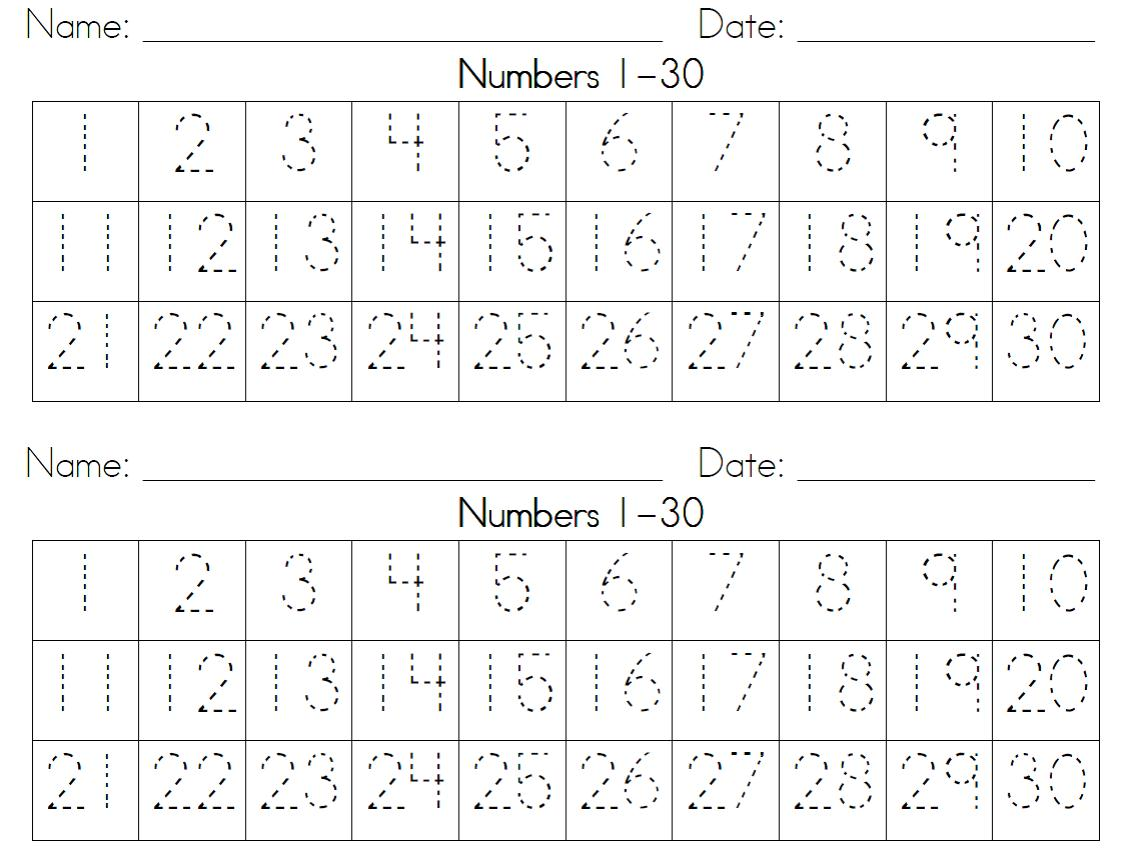 Free Arithmetic and Number Concepts Worksheets