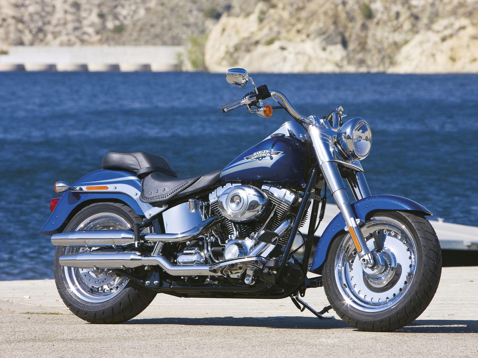 Accident lawyers info, 2009 Harley-Davidson FLSTF Fat Boy